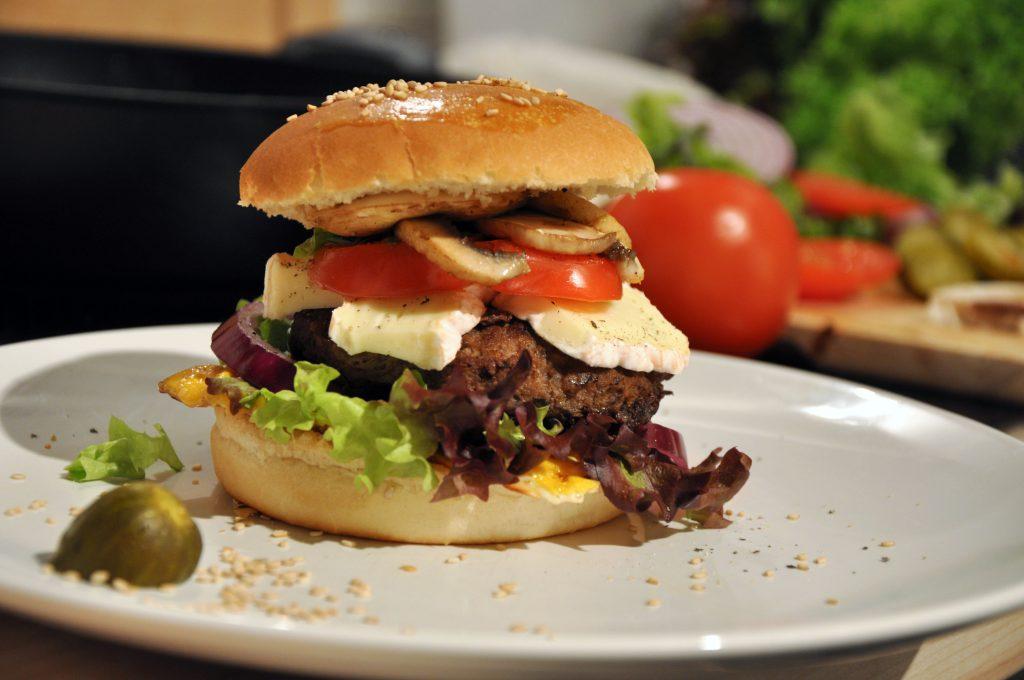 Hamburger-Brötchen aus dem Supermarkt