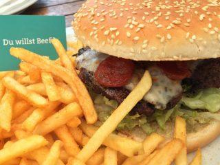 Space Burger bei burgerfight