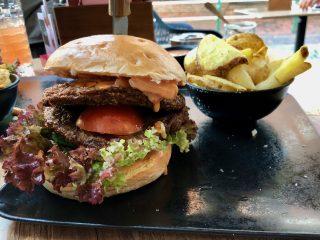 Gezeiten Café & Restaurant bei burgerfight